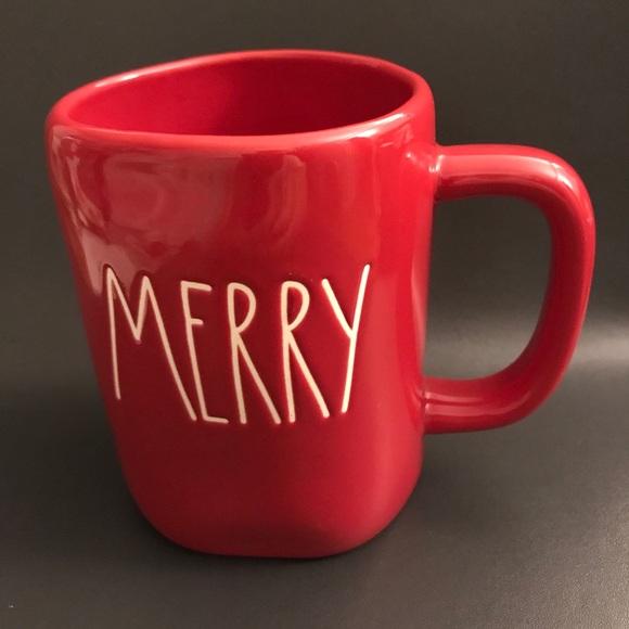 Rae Dunn Other - Rae Dunn Red Merry Mug